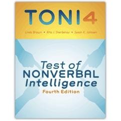 TONI-4 Test of Nonverbal Intelligence