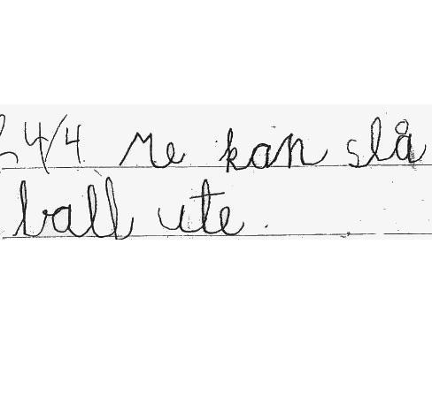 Handsskrift treng det vere vanskeleg? Pedverket