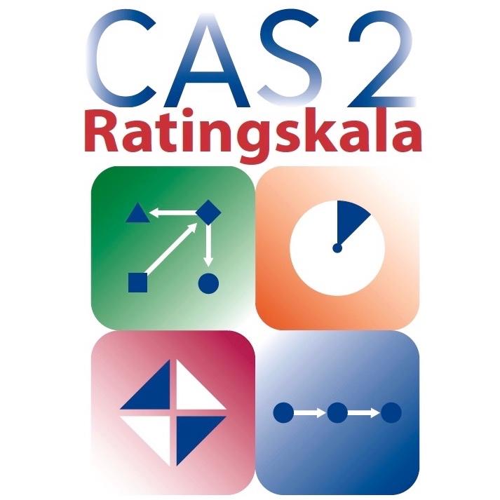CAS2 Ratingskala og ratingskjema for PASS-prosessene
